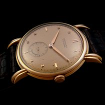 Longines Vintage Solid Gold 18k Mechanical Watch