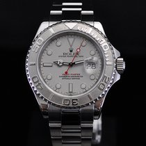 롤렉스 (Rolex) Yachtmaster 40mm Steel with Platinum Bezel and Dial