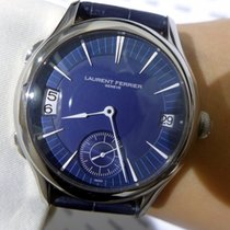 Laurent Ferrier Gallet Traveller Dual Time Zone White Gold -...