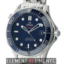 Omega Seamaster Diver 300 M Co-Axial 41mm Steel Blue Dial