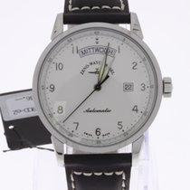 Zeno-Watch Basel Magellano Big Day white NEW