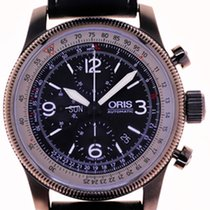 Oris Mans Automatic Wristwatch Chronograph Big Crown X1...
