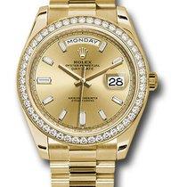 Rolex Unworn 228348CHBDP Day-Date 40 in Yellow Gold - Diamond...