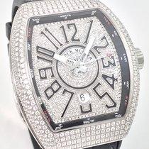 Φράνκ Μιούλερ (Franck Muller) Vanguard Iced Out Diamonds Full...