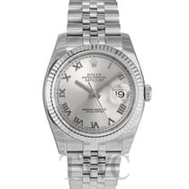 롤렉스 (Rolex) Datejust Steel Silver/Steel Ø36mm - 116234