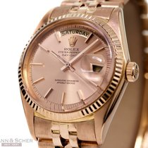 Rolex Vintage Day-Date Ref-1803 18k Rose Gold Jubilee Rose...