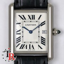 Cartier Tank Louis White gold, Box&Papers