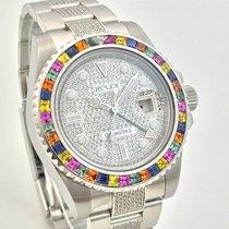 ロレックス (Rolex) GMT MASTER II Haribo Summer Baguette Diamonds...