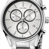 ck Calvin Klein City Chrono K4M27146 Herrenchronograph Swiss Made