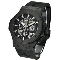 Hublot 311.QX.1124.RX Big Bang 44mm Aero Bang Carbon - Carbon...