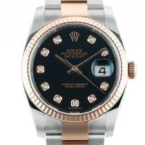 Rolex Datejust Stahl Roségold Everose Diamond Automatik...