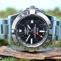 Breitling 43mm Avenger II GMT, UNGETRAGEN, Ref. A3239011...