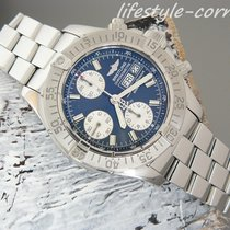 Breitling SuperOcean Chrono A13340 mit Stahlband (Box &...
