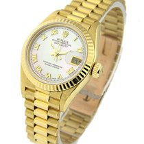 Rolex Used 79178 Ladys President - Yellow Gold - 18K YG Fluted...
