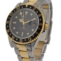 Rolex Used 16713_used_black_oyster GMT Master II 2-Tone with...