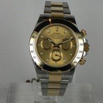 Rolex DAYTONA STEEL GOLD CHAMPAGNE DIAL