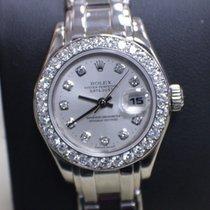Rolex 69299 18K WG Pearlmaster Original Diamond Dial & Bezel