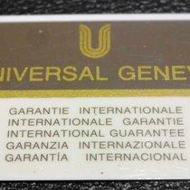 Universal Genève vintage warranty card newoldstock