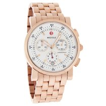 Michele Sport Sail Chronograph Rose Gold Plated
