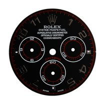 Rolex Daytona Black/Black Arabic Numeral Custom Dial