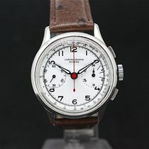 Chronographe Suisse Cie Military Handaufzug Chronograph White...