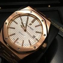 Audemars Piguet Royal Oak 41 mm Rose Gold White Dial