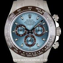 Rolex Platinum O/P Unworn Ceramic Bezel Ice Blue Daytona...