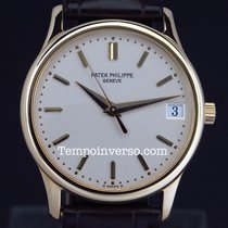 Patek Philippe Calatrava yellow gold screw back full set &...