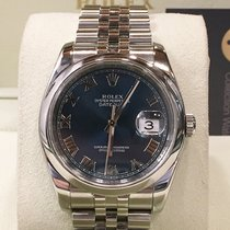 Rolex Datejust 116200  Blu Romani