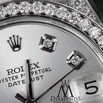 Rolex Ladies 31mm Rolex Oyster Perpetual Datejust Custom Set...