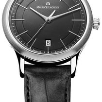 Maurice Lacroix Les Classiques Black Dial Stainless Steel
