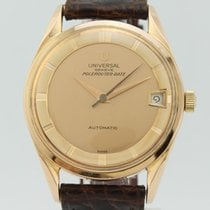 Universal Genève Polerouter Date Automatic 18K Gold 2375383