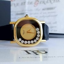 Chopard big Happy Diamond Onyx (10pcs) 18k Gold manual wind