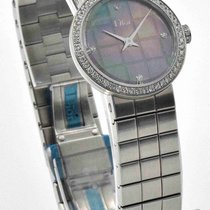 Dior - La D De Dior Watch CD047110M002 Diamond Dial 23mm...