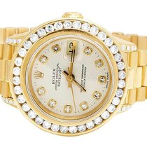 Rolex Ladies Rolex President 26MM Datejust 18K Yellow Gold...