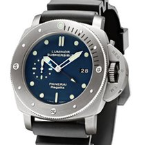 Panerai PAM 371 Luminor Submersible 1950 Regatta 3 Days GMT...
