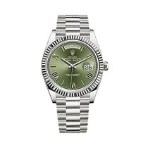 Rolex Day-Date President 40 18K Solid White Gold Automatic