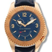 Girard Perregaux Sea Hawk To John Harrison 18K Rose Gold...
