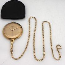 Corum Lepine Taschenuhr mit Kette in Gold 18k/750 38mm