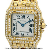 カルティエ (Cartier) Panthere Collection Panthere Ladies 22mm 18k...