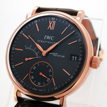 IWC 18K Rose Gold Portofino iw510104 8 Days Power Reserve
