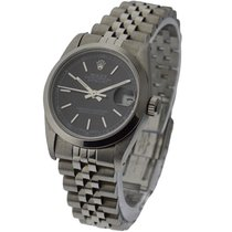 Rolex Used 68240_used_black_stick Mid Size Datejust with...