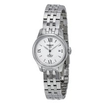 Tissot Women's T41118333 Le Locle Silver Dial Automatic Stai