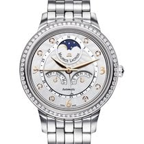 Maurice Lacroix Starside Eternal Moon Diamond Bezel, Steel Strap