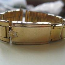 Rolex Genuine Rolex Vintage Bubbleback 6635 bracelet band Riveted