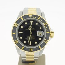 Rolex Submariner Date Steel/Gold 40mm (BOX1994) Black Dial