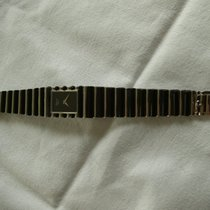 Chopard Damen Armband Uhr Weißgold/Onyx