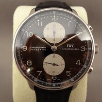 IWC Portuguese Chrono panda dial / 41mm
