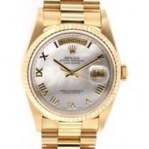 Rolex Day Date 18238 Yellow Gold, Mother Of Pearl, 36mm