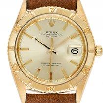 Rolex Datejust Turn-O-Graph 18kt Gelbgold Automatik Armband...